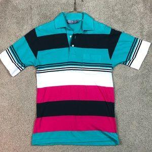 Vintage 90's Single Stitch Golf Polo